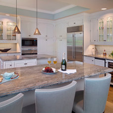 Traditional Kitchen by Little Palm Design Group