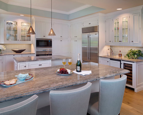 Surf Green Granite Home Design Ideas, Pictures, Remodel and Decor
