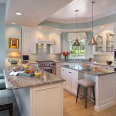 Beach Style Kitchen by Little Palm Design Group