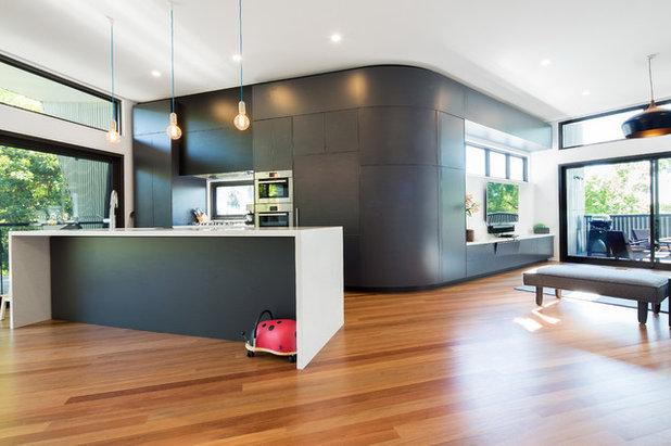 Contemporary Kitchen by Adam Dettrick Architects