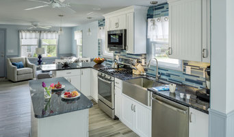 Narragansett beach house remodel with sun-room addition