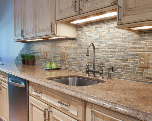 Gray And Camel Kitchen Design Ideas Remodels Amp Photos