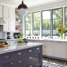 Transitional Kitchen by Marvin Windows and Doors