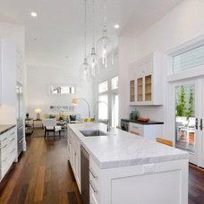 Contemporary Kitchen by Hudson Street Design