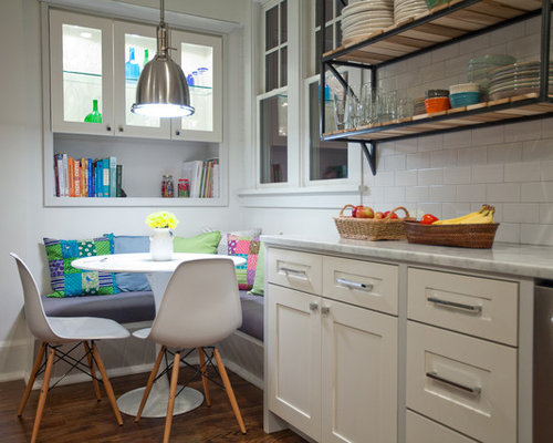 Small Nook Kitchen Banquette Houzz