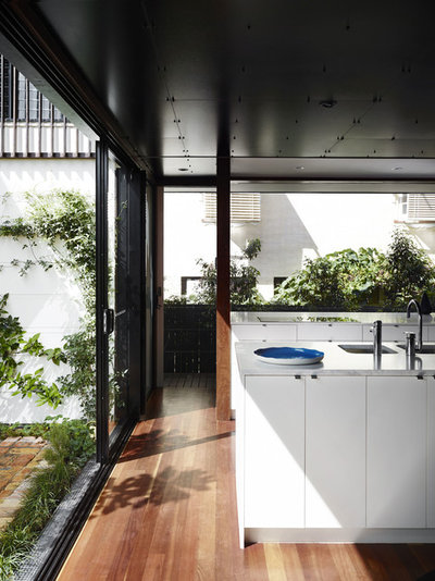 Contemporary Kitchen by Australian Institute of Architects