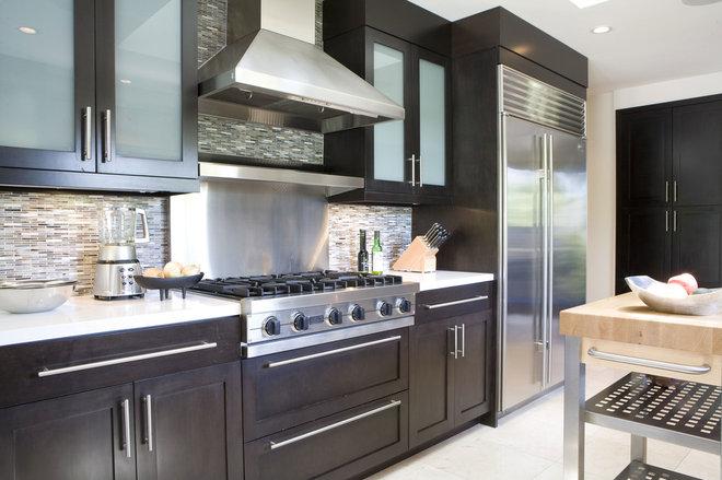 آشپزخانه معاصر توسط تیم طراحی کلارک