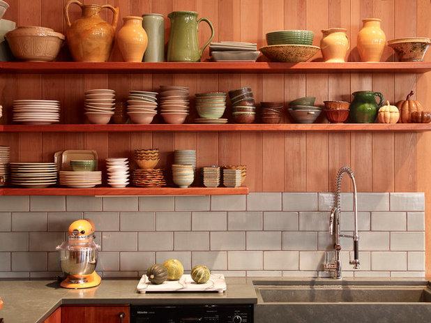 コンテンポラリー キッチン by Tim Clarke Design