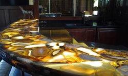 Natural Agate Counter Top-Aura Semi Precious Stone