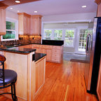 Marquis Cinnamon Kitchen Cabinets - Traditional - Kitchen - Philadelphia - by RTA Cabinet Store