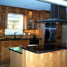 Contemporary Kitchen by Woodperfect Custom Cabinetry