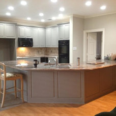 Traditional Kitchen Countertops by Texas Counter Fitters