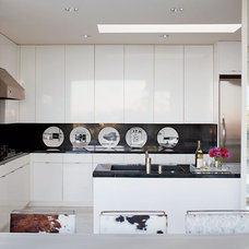Contemporary Kitchen by Mont Granite, Inc.