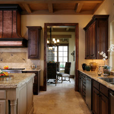 Mediterranean Kitchen by Gibson Gimpel Interior Design