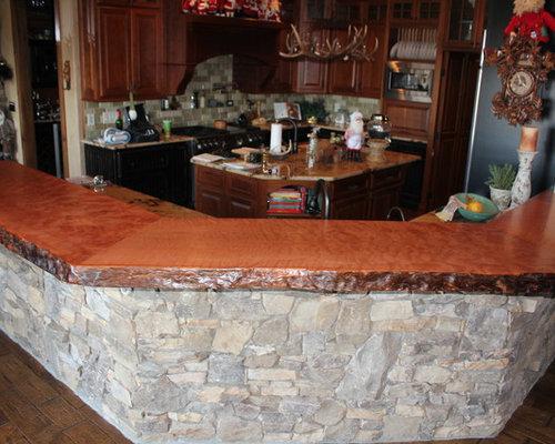 SaveEmail. Natural Wood Counter