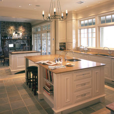 Traditional Kitchen by S.O.M.E. Architects, P.C.