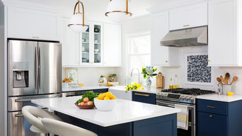 Navy & White Dream Kitchen