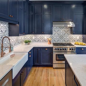 Navy Kitchen addition