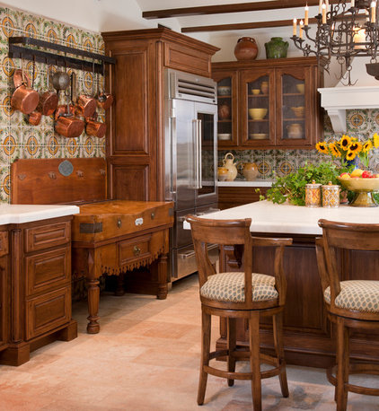 Traditional Kitchen by Nelson Barnum Interiors