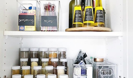 Post-KonMari: How to Organize Your Pantry