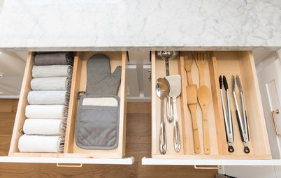 How to Store Kitchen Tools and Flatware