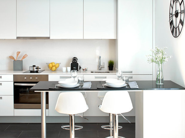 Modern Kitchen by Silestone Australia