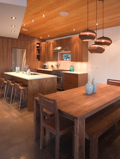 Walnut Cabinetry Houzz