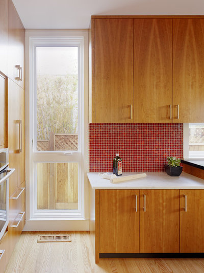 Kitchen Backsplash Red kitchen color: 15 ravishing red backsplashes
