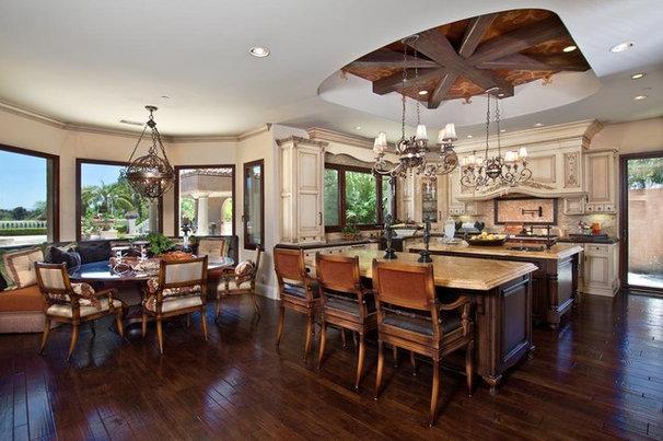 Mediterranean Kitchen by Orange Coast Interior Design