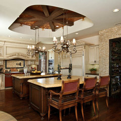 mediterranean kitchen by Orange Coast Interior Design