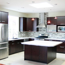 Contemporary Kitchen by Demetra Cabinetry Inc
