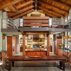Farmhouse Kitchen by Sage Architecture, Inc.
