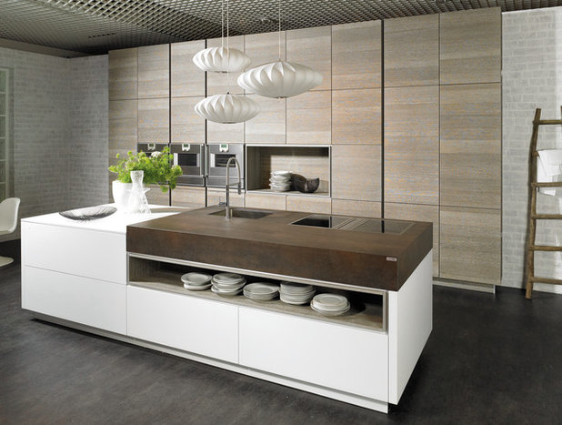 Contemporary Kitchen by Holland Marble Imports