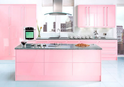 contemporary kitchen neopolitan-pink-kitchen