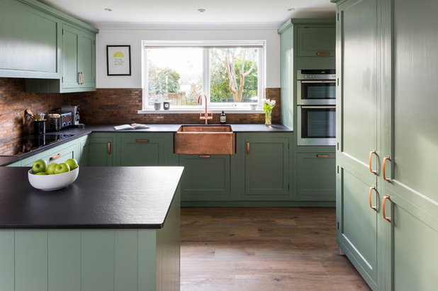 Traditional Kitchen by Woods of London ltd