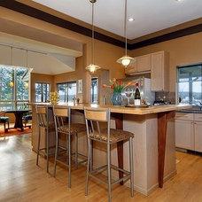 Contemporary Kitchen Nesika Bay home