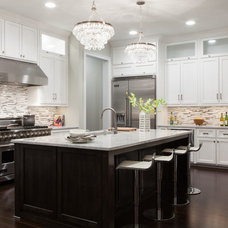 Transitional Kitchen by 24e Design Co.