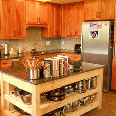 Craftsman Kitchen by Ridgeview Construction