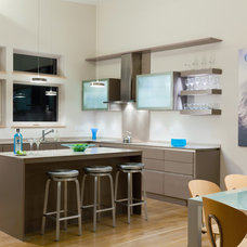 Contemporary Kitchen by A3 Architects, INC