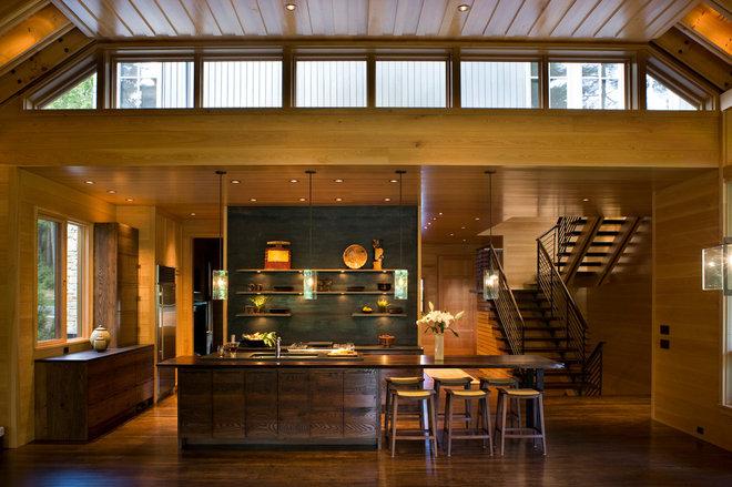 Contemporary Kitchen by Alchemy Design Studio