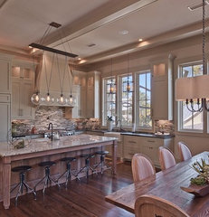 eclectic kitchen by Borges Brooks Builders