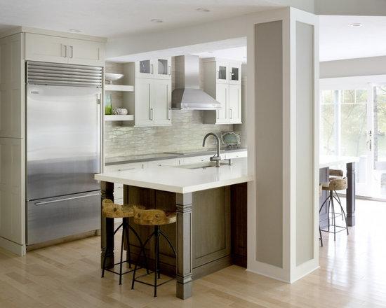 Kitchen Backsplash Neutral neutral wave kitchen tile backsplash