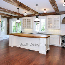 Farmhouse Kitchen by Scott Design, Inc.