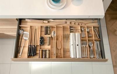 Smarta lösningar för det lilla köket