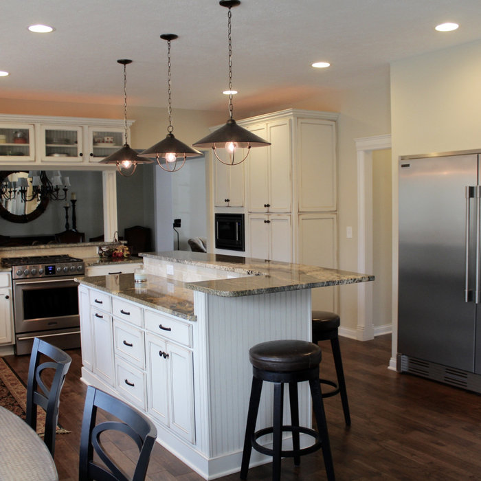New Albany Farmhouse Kitchen Remodel