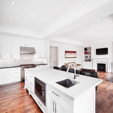 Transitional Kitchen by Davisville Kitchens