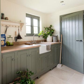 New build oak framed cottage - Herefordshire