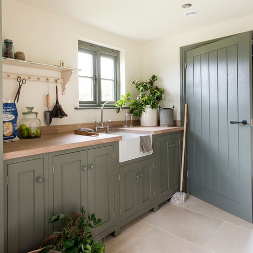 farmhouse kitchen ideas inspiration for a farmhouse single wall kitchen remodel in west midlands - Farmhouse Kitchen Design Ideas