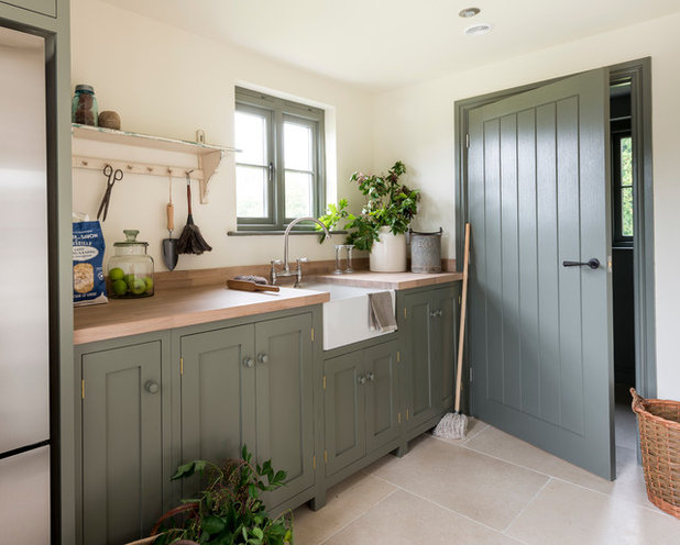 Country Utility Room by Border Oak Ltd
