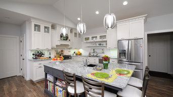 New Bungalow Kitchen White with gray